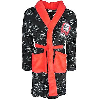 Star Wars jungen weichem Fleece Bademantel / Dressing Gown