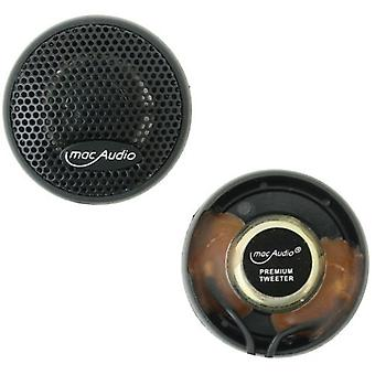 1 par de 20 mm tweeter de agudos mac audio premium