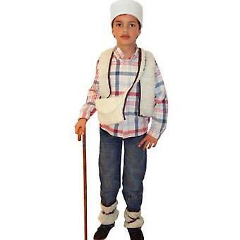 Infantiles disfraces traje de pastor de los niños