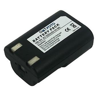 Dot.Foto Canon NB-5H Replacement Battery - 6.0v / 650mAh