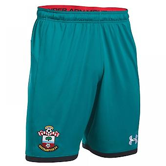 2017-2018 Southampton Away Football Shorts (Turquoise)