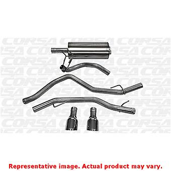 CORSA Performance Cat Back Exhaust 14405 Polished Fits:DODGE 2009 - 2010 RAM 15