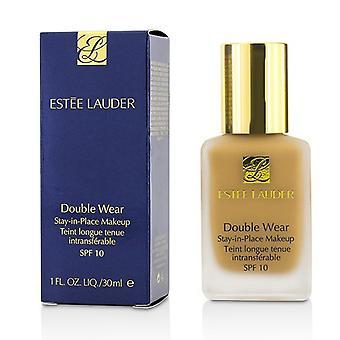 Estee Lauder dobbelt slitasje oppholdet i stedet Makeup SPF 10 - nr 88 sandbanke (3 c 3) - 30 ml/1 oz