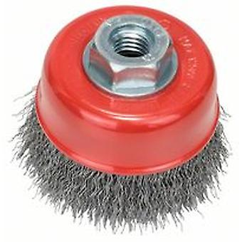 Bosch 2608622098 70 X M14 Cup Brush Crimped Wire 0.3Mm Steel