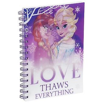 FROZEN A5 Size Soft Cover Notebook