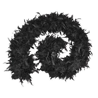 Feather Boa 80g Black (Budget)