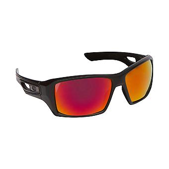 Eyepatch 2 Replacement Lenses Polarized Silver & Red by SEEK fits OAKLEY