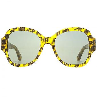 Saint Laurent SL 133 Sunglasses In Leopard