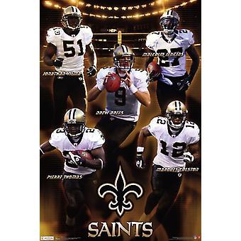 Saints - Team 11 Poster Print
