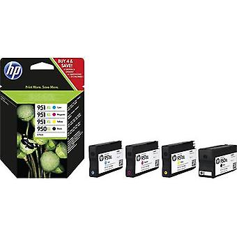HP Ink 950XL, 951XL Original Set Black, Cyan, Magenta, Yellow C2P43AE