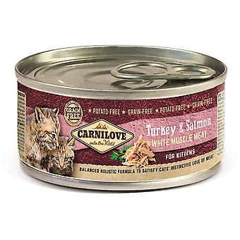 Carnilove Lata para Kittens WhitMeat Pavo y Salmón (Cats , Cat Food , Wet Food)