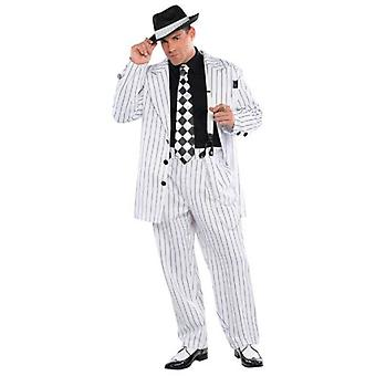 Amscan Mafioso Boss Adult Standard Costume (Babies and Children , Costumes)
