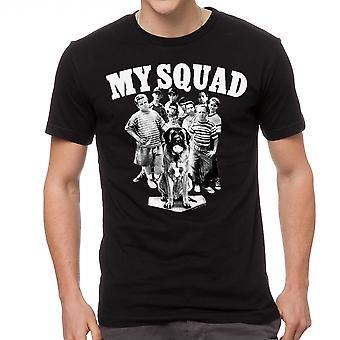 Sandlot min trup mænd sort T-shirt