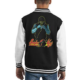 Mistrz Dojo Skeletor Cobra Kai on człowiek Karate Kid Kid uniwerek kurtka