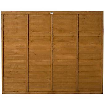 Forest Garden Premier 5ft Traditional Wooden Fence Panel