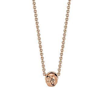 Cadena collar de acero inoxidable de la mujer de Joop rosado EMBRAC JPNL10597C420