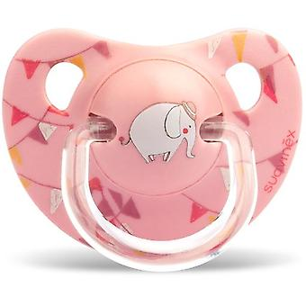 Suavinex Anatomical Pacifier Latex White Elephant 6-18 Months