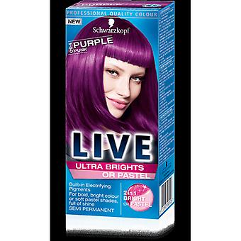 Schwarzkopf Live Ultra Brights Or Pastel-Purple Punk 94