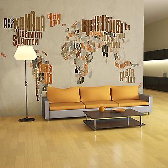 Wallpaper - Indiana Jones - map of adventures