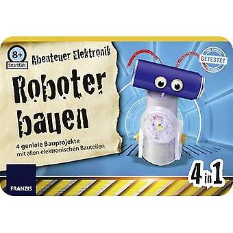 Kit de montaje de robot Franzis editorial Franzis 8 978-3-645-65251-3 años y más