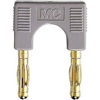 Connector Grey Pin diameter: 4 mm Dot pitch: 19 mm Stäubli EK-400 1 pc(s)