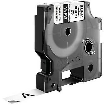 Etiquetado color de DYMO 18758 cinta cinta: color de fuente blanco: negro 12 mm 3,5 m