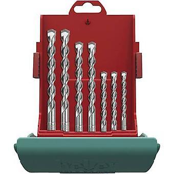 Metal de carburo martillo broca set 7 piezas 5 mm, 6 mm, 6 mm, 8 mm, 8 mm, 10 mm