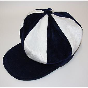 Union Jack Wear Blue & White Baker Boy Style Cap