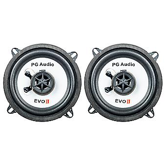 1 pair PG audio EVO II 13.2, 13 cm coaxial car speaker, new goods