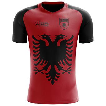 Camisa de futebol do conceito de bandeira 2018-2019 Albânia (crianças)