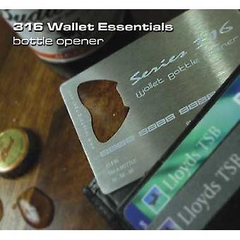 Otwieracz do butelek - portfel Essentials!