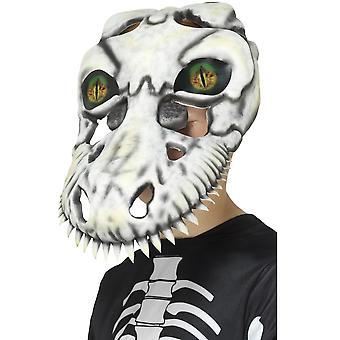 Masker T-rex dinosaurie skelett mask