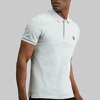 Lyle & Scott Slim Stretch Polo Shirt Grey Blue
