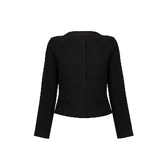 CROPPED BLACK JACKET