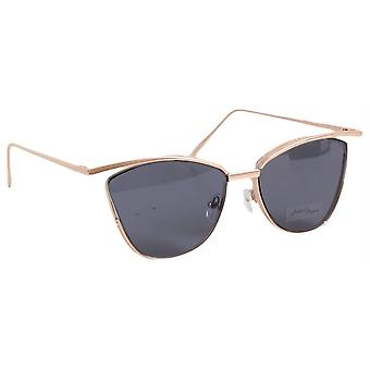 Jeepers Peepers Cat Eye Sunglasses - Black/Rose Gold
