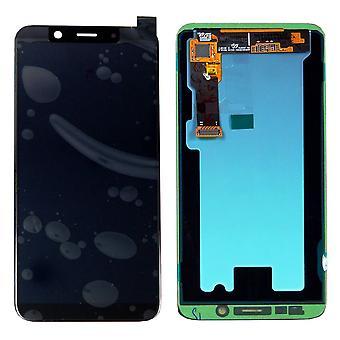 Samsung Display LCD Komplettset GH97-22048A Schwarz für Galaxy J6 J600 2018