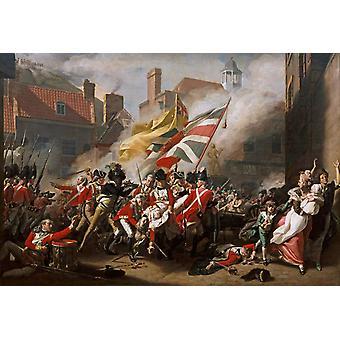 The Death of Major Peirson,COPLEY John Singleton,60x40cm