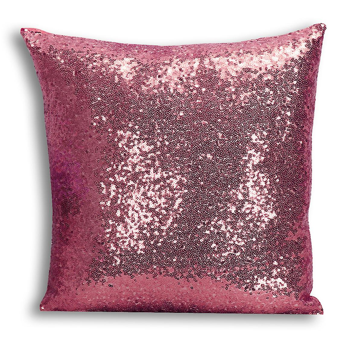 Gold Cover tronixsUnicorn Home Decor I CushionPillow 16 Inserted Design Printed For Rose Sequin With DIH29WE