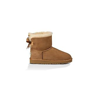 UGG MINI BAILEY BOW CHESTNUT BABY BOOT