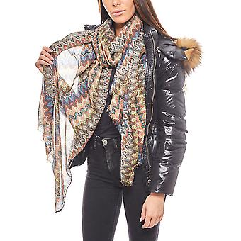VERO MODA airy scarf in ethno style for ladies multi colored