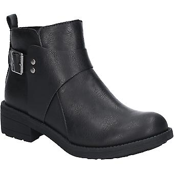 Rocket Dog Womens Turia Zip Up Slip On Buckle Ankle Boots