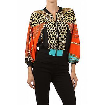Waooh - moda - chaqueta con cremallera «María» imprimir cadenas
