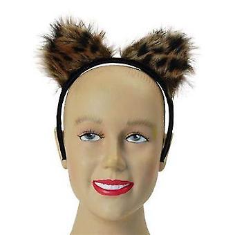 Furry Leopard Ears.