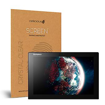 Celicious Vivid Invisible Glossy HD Screen Protector Film Compatible with Lenovo MIIX 3 10.1 Tablet [Pack of 2]