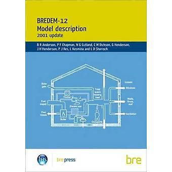 BREDEM-12 Model Description - 2001 Update - Model Description - 2001 by