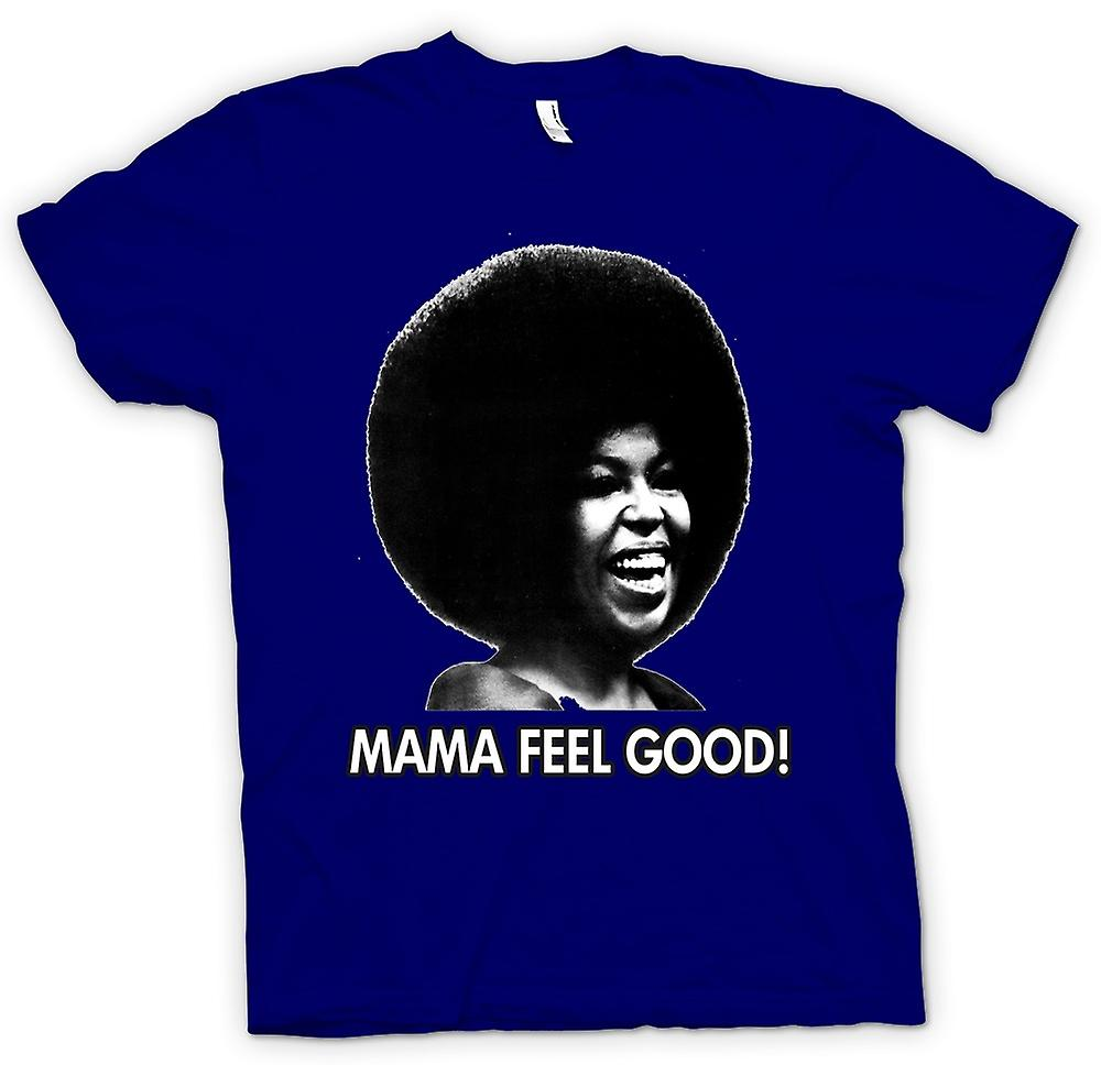 Mens t-skjorte - Mama feelgood - sjel - Afro