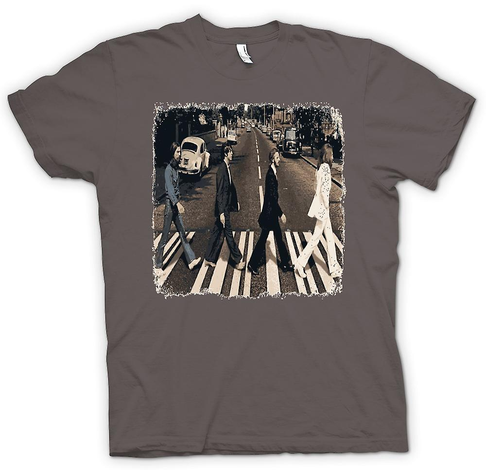T-shirt des hommes - Beatles - Abbey Road - Album Art