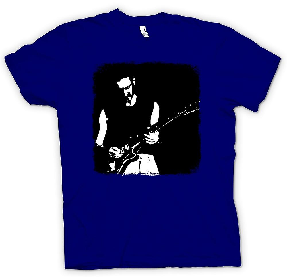 Mens T-shirt - Frank Zappa Rock - Pop-Art