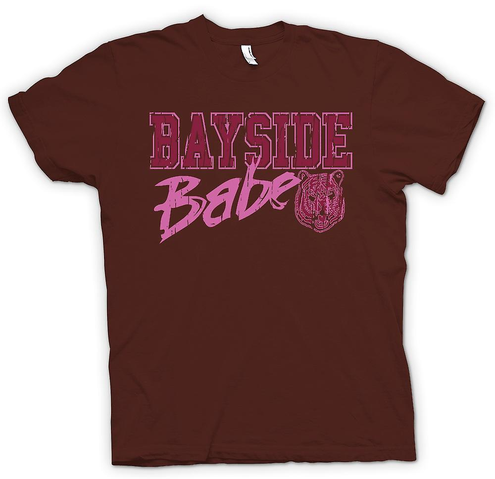 Heren T-shirt - Bayside Babe - Bayside Tigers - Funny