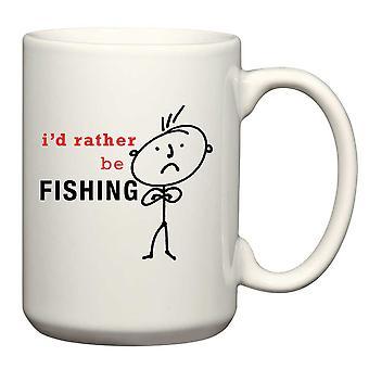 Mens I'd Rather Be Fishing Man Mug